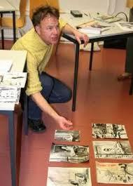 Olaf Klepzig im Atelier