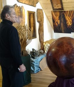 Paul Krenz im Atelier