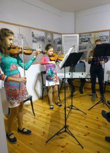 Violinenspiel