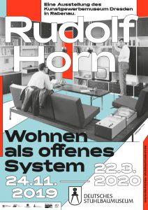 Plakat Rudolf Horn Ausstellung